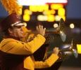 Matt Crockett at the Midwestern State football game, Aug. 31, 2017, against Quincy, Illinois. MWSU won 53-6 in the season opener. Photo by Bradley Wilson