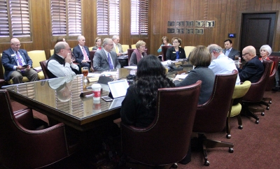 Emergency Board meeting was held to discuss alterations of the plans for the new Health Science because the cost was apparently $1 million to $2 million over budget. Photo by Rachel Johnson