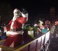 About 200 people attend the MSU-Burns Fantasy of Lights which opened Nov. 21. Photo by Kara McIntyre.