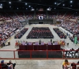 The Kay Yeager Coliseum at Midwestern State University fall graduation, Dec. 13, 2014 in Wichita Falls, Texas. Photo by Rachel Johnson
