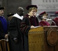 University President Suzanne Shipley at the Midwestern State University graduation, May 14, 2016. Photo by Topher McGehee