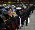 Midwestern State University Commencement Cermemony, Kay Yeager Coliseum.May 14th.by Timothy Jones