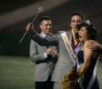 Elijah Mire and Sabina Marroquin, 2014 homecoming king and queen. Photo by Bradley Wilson