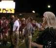 at the homecoming game, Oct. 25, 2015. Photo by Bradley Wilson