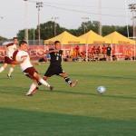 Men's soccer humiliates Central Baptist