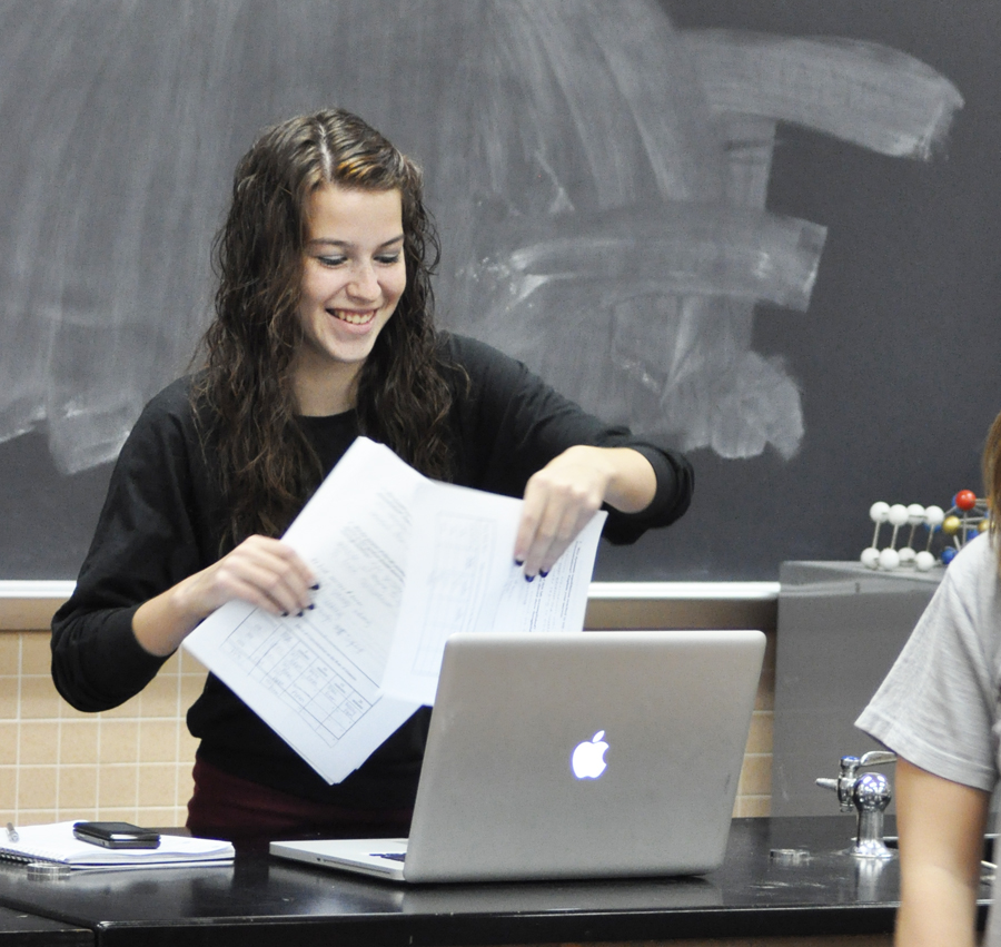 Sophomore rises to teaching assistant position