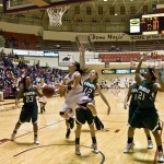 Lady Mustangs earn trip to conference tournament