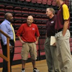 The Real 'Coach Carter' Encourages Student Athletes