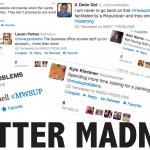 Twitter madness
