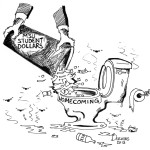 Homecoming editorial cartoon