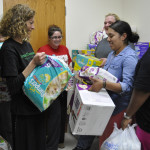 Social work group holds diaper drive