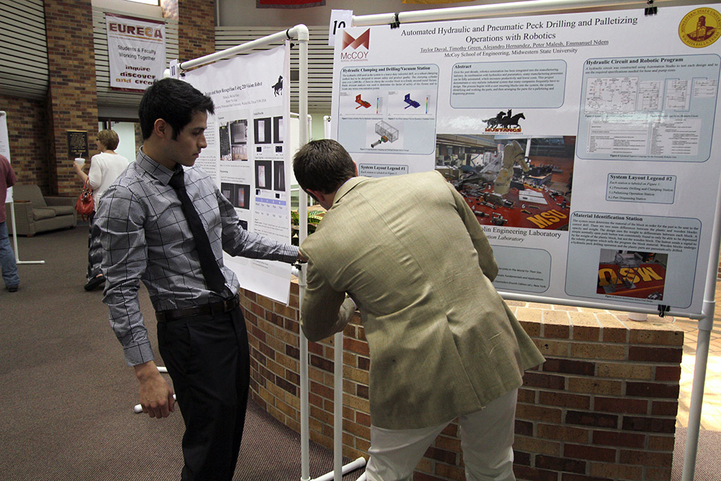 Undergraduates present research as part of campus endeavor