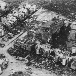 Wichita Falls resembled a city ravaged by war