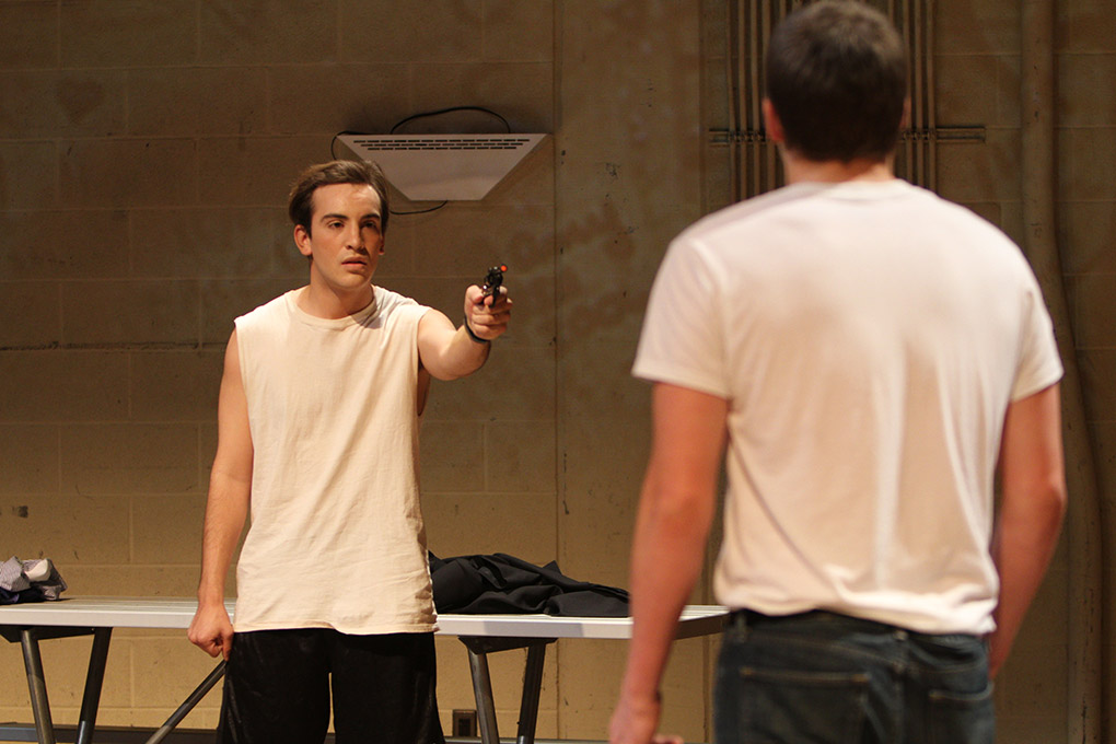 Students produce one-act plays with no budget