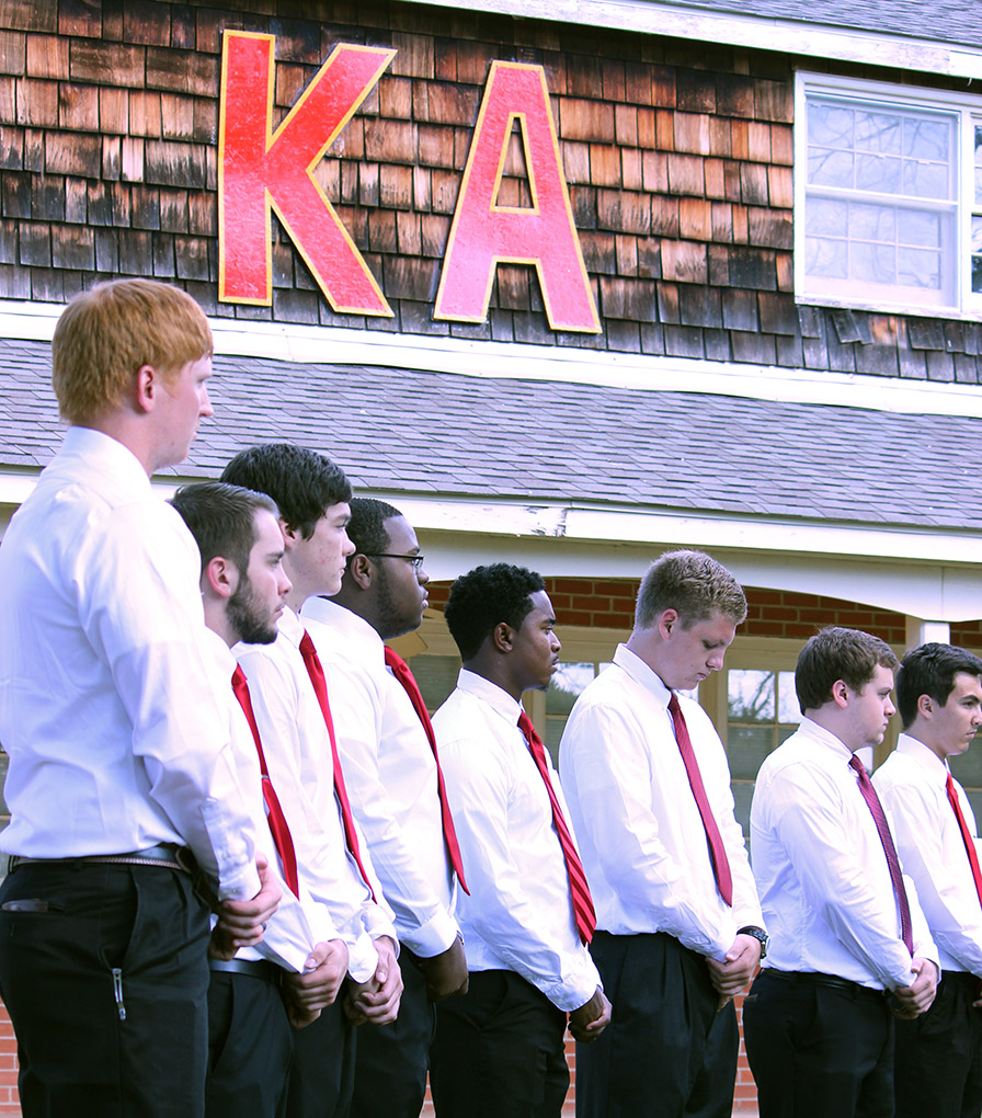 Fraternities go beyond stereotypes