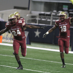 Football explodes past Eastern New Mexico in Lone Star Festival, 42-17