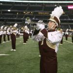 Fans, players, band have different experience at AT&T Stadium
