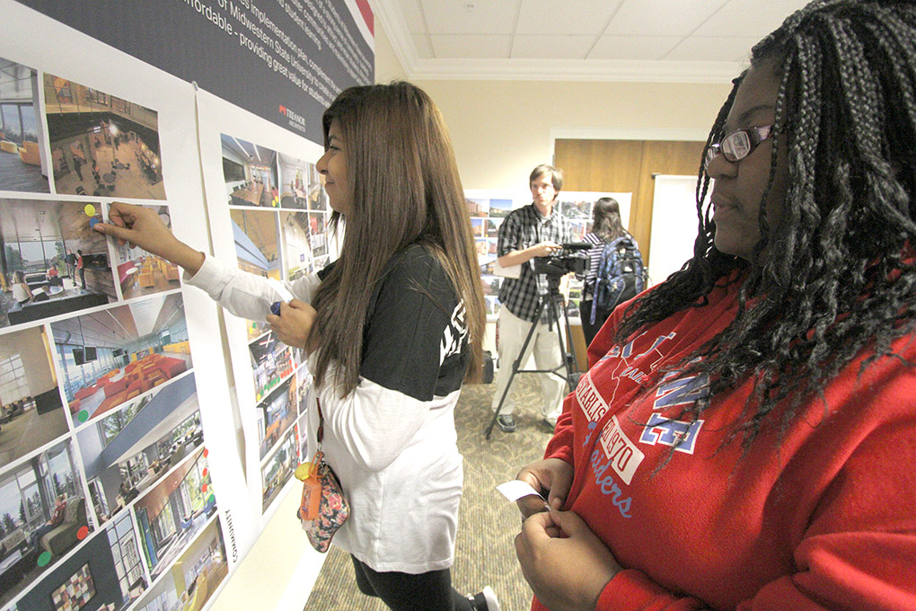 Students give input on new residence halls
