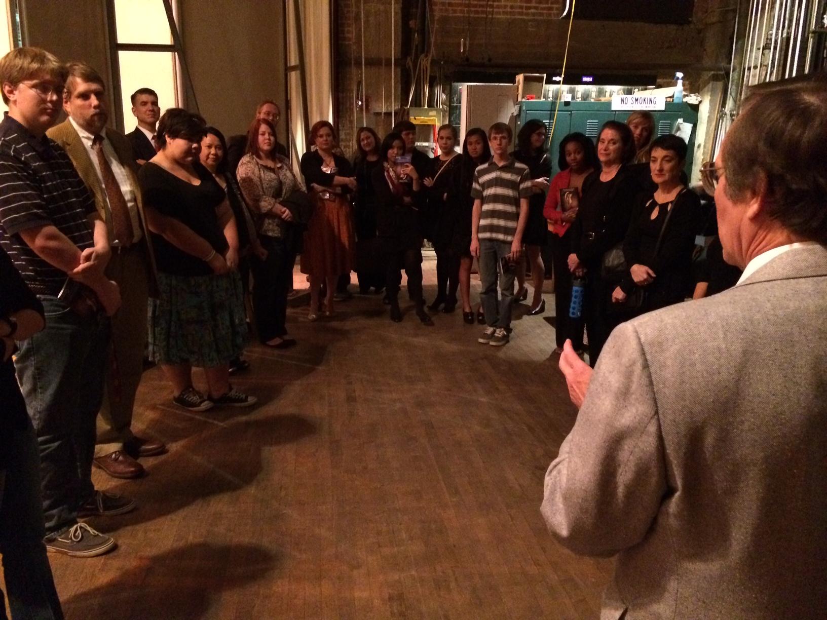 Arts and Literature members get behind-the-scenes look at poetry, music