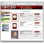 Faculty profiles hacked, temporarily shut down