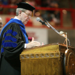 Rogers to impart life lessons, say goodbye in graduation speech
