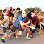 About 60 people attend wellness 5k run/walk