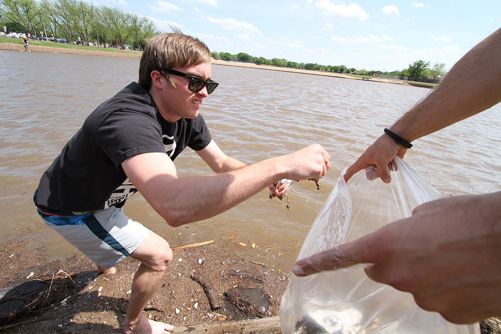 Sikes Lake Cleanup Saturday