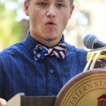 Student delivers 9/11 memorial speech