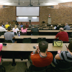 15 students discuss guns on campus at forum