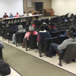 30 people attend meeting on campus discrimination