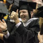 607 degrees awarded at fall graduation