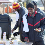 Cookie Dash continues despite cold weather, low attendance