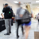 Enrollment numbers increase for spring semester
