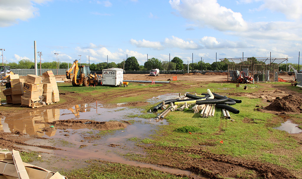 Field turf installations to be completed before fall semester