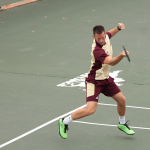 Tennis seniors receive 100 wins, teams continue success