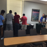 Tau Sigma mixer uses Scavify to get students 'out of the house'