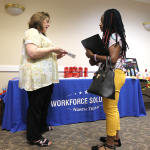 26 businesses attend part-time job fair