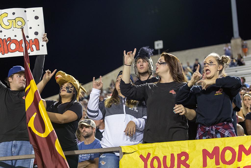 Mustang Maniacs aim to keep high school spirit aspirations alive