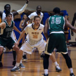 Men's basketball wins 107-75 in first game of season