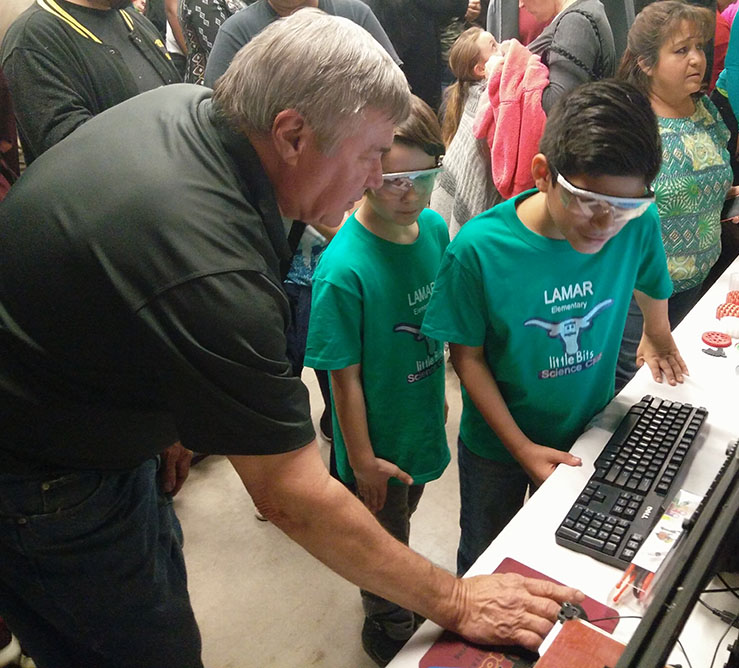 WFISD and MSU collaborate to hold MacGyver Fair