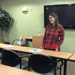 Two students learn how to choose a career at counseling workshop