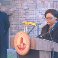 University unveils historical marker