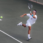 Tennis teams continue home streak against Metro State