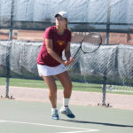 Women's tennis clinches national tournament spot