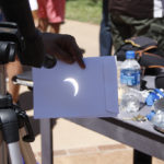 About 100 students watch sun at Sunwatcher