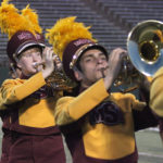 Golden Thunder band displays new uniforms