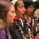 Symphony Orchestra, Wind Ensemble performance honor late mentor