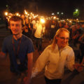 450 flames light torch parade