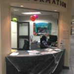 Information desk workers cater to quirks