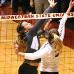 Volleyball beats Texas Women's University